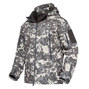 1. MAGCOMSEN Men's Tactical Army Outdoor Coat