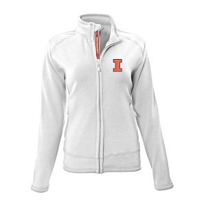 8. Level-wear NCAA Ladies Tranquil Team Script Full Zip
