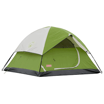 1. Coleman Dome Tent
