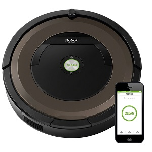 5. iRobot Roomba 890 Robot vacuum with WIFI Connection.