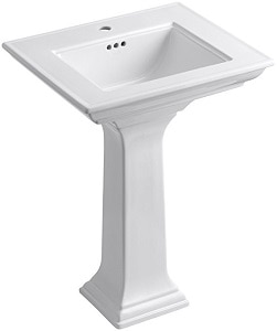 6. KOHLER K-2344-1-0 Memoirs Pedestal Bathroom Sink