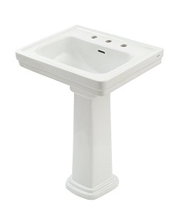 10. Promenade Lavatory and Pedestal with 8-Inch Centers