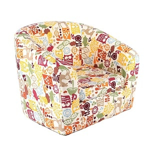 7. Emall life Kid's Armchair Children's Roundy Chair Cartoon Sofa