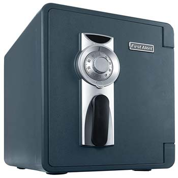 3. First Alert 2087F waterproof and fire resistant safe.