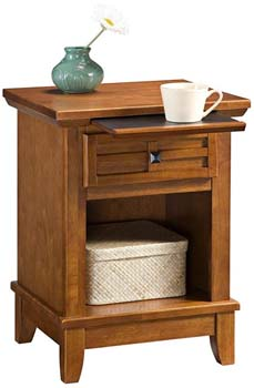 6. Home Styles 5180-42 Arts and Crafts Night Stand