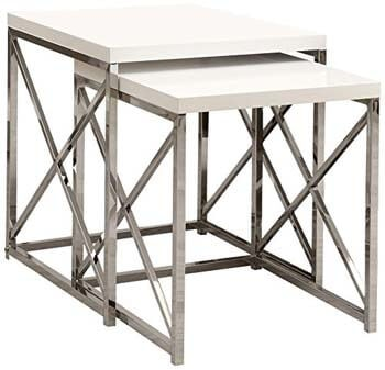 6. Monarch Specialties I 3025 Nesting Table