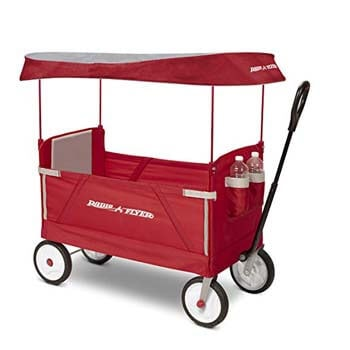 4. Radio Flyer Folding Wagon