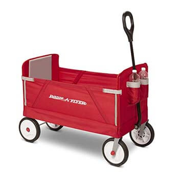 3. Radio Flyer 3-in-1 Folding Wagon