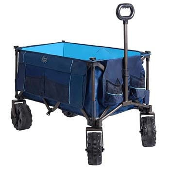 5. Timber Ridge Folding Camping Wagon Cart