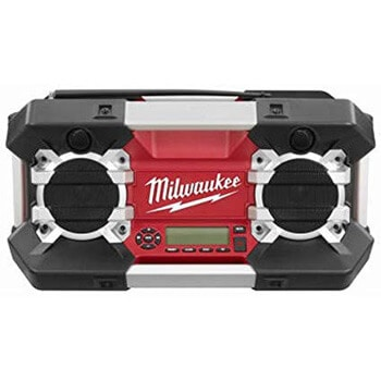 6. Milwaukee 2790-20 12-Volt to 28-Volt Jobsite Radio