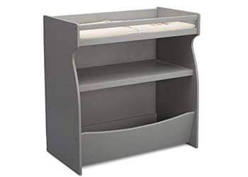 4. Delta Children 2-in-1 Changing Table and Storage Unit