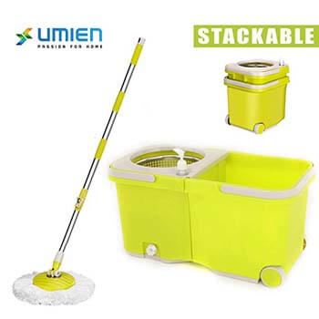 5. Umien Spin Mop and Bucket System