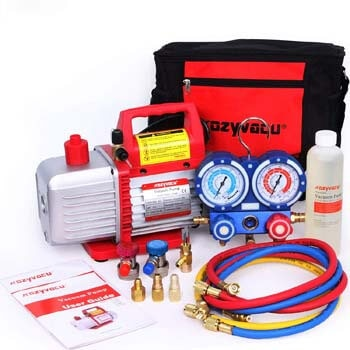 4: Kozyvacu Mini Split/HVAC/AUTO AC Repair Complete Tool Kit