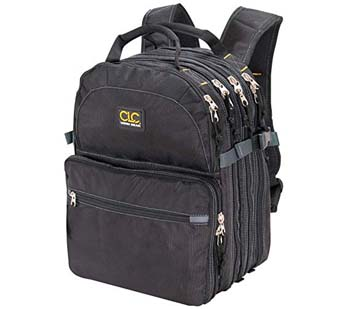 10: CLC Custom LeatherCraft 1132 75-Pocket Tool Backpack