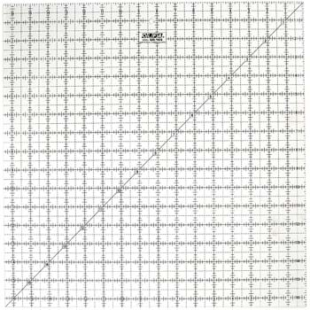 7: OLFA 1071800 QR-16S 16-1/2-Inch Square Frosted Advantage Acrylic Ruler