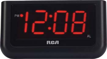7: RCA Digital Alarm Clock with Large 1.4