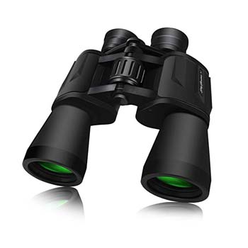 9: SkyGenius 10 x 50 Powerful Binoculars for Adults Durable Full-Size Clear Binoculars