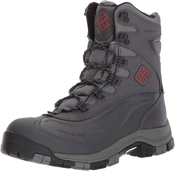 10: Columbia Men's Bugaboot plus Omni-Heat Michelin Snow Boot