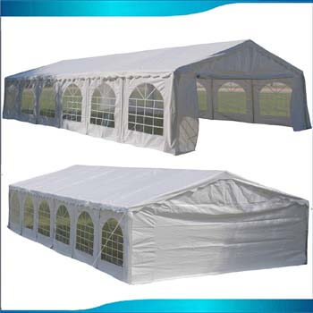 5: DELTA Canopies Budget PE Party Tent Canopy Shelter White - 40'x20'