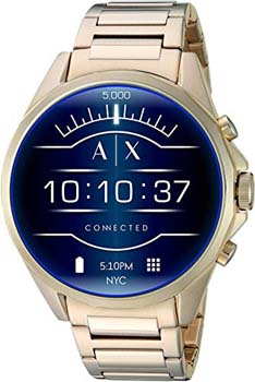 7. Armani Exchange Men's Smartwatch Powered with Wear OS by Google