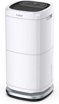 10. COLZER 140 Pints Commercial Dehumidifier 17 Gallons Large Capacity Dehumidifiers