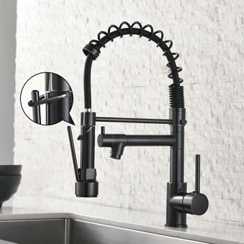 9. AIMADI Spring Commercial Kitchen Sink Faucet