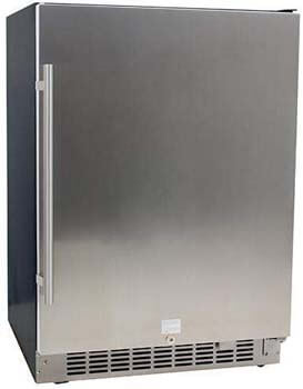 2. EdgeStar CBR1501SLD 5.49 Cu. Ft 142 Can Built-in Stainless Steel Beverage Cooler