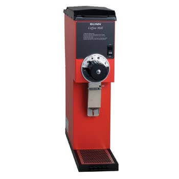5. BUNN 22100.0001 G3 Bulk Coffee Grinder, Red