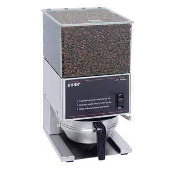 1. BUNN LPG Low Profile Portion Control Grinder with 1 Hopper