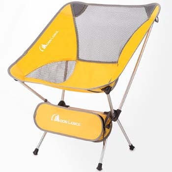 2. MOON LENCE Outdoor Ultralight Portable Folding Chairs