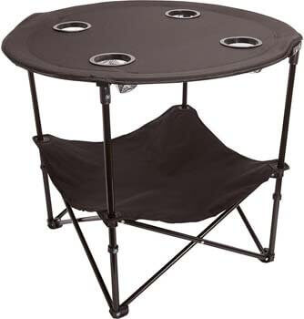 6. Preferred Nation Folding Table, Polyester with Metal Frame