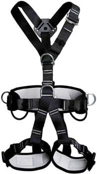 7. kissloves Full Body Safety Climbing Harness Outdoor Rock Climbing Harness