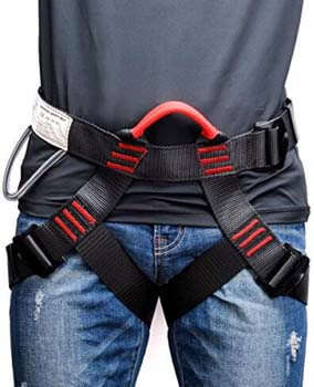2. Weanas Thicken Climbing Harness, Protect Waist Safety Harness