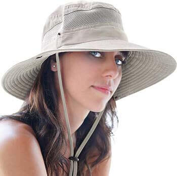 6. GearTOP Fishing Hat and Safari Cap with Sun Protection Premium Hats for Men and Women