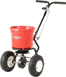 1. Earthway 2150 Commercial 50-Pound Walk-Behind Broadcast Spreader