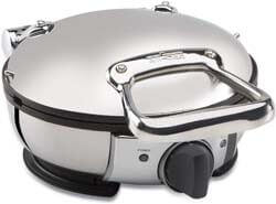 4. All-Clad Stainless Steel Classic Round Waffle Maker
