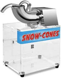 2. Costzon Ice Shaver, Stainless Steel Electric Crusher