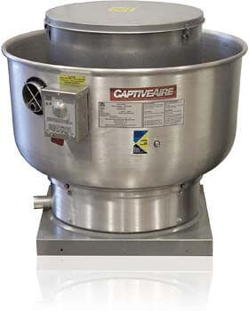 8. Restaurant Canopy Hood Grease Rated Exhaust Fan