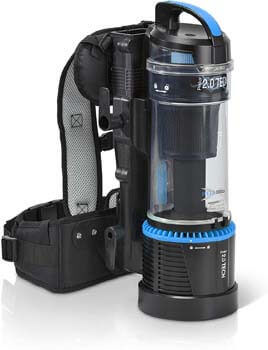 2. Prolux 2.0 1 Hour Battery Bagless Backpack Vacuum Cleaner