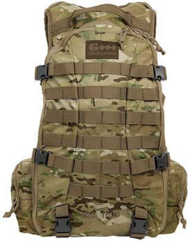 7. Geigerrig Pressurized Hydration Pack - RIG 1600 Tactical – Multicam