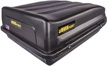 6. JEGS 90098 Rooftop Cargo Carrier | 18 cu. ft. | Waterproof | Made in the USA