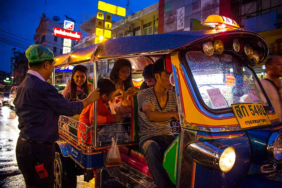 Tuk Tuk tours in Bangkok