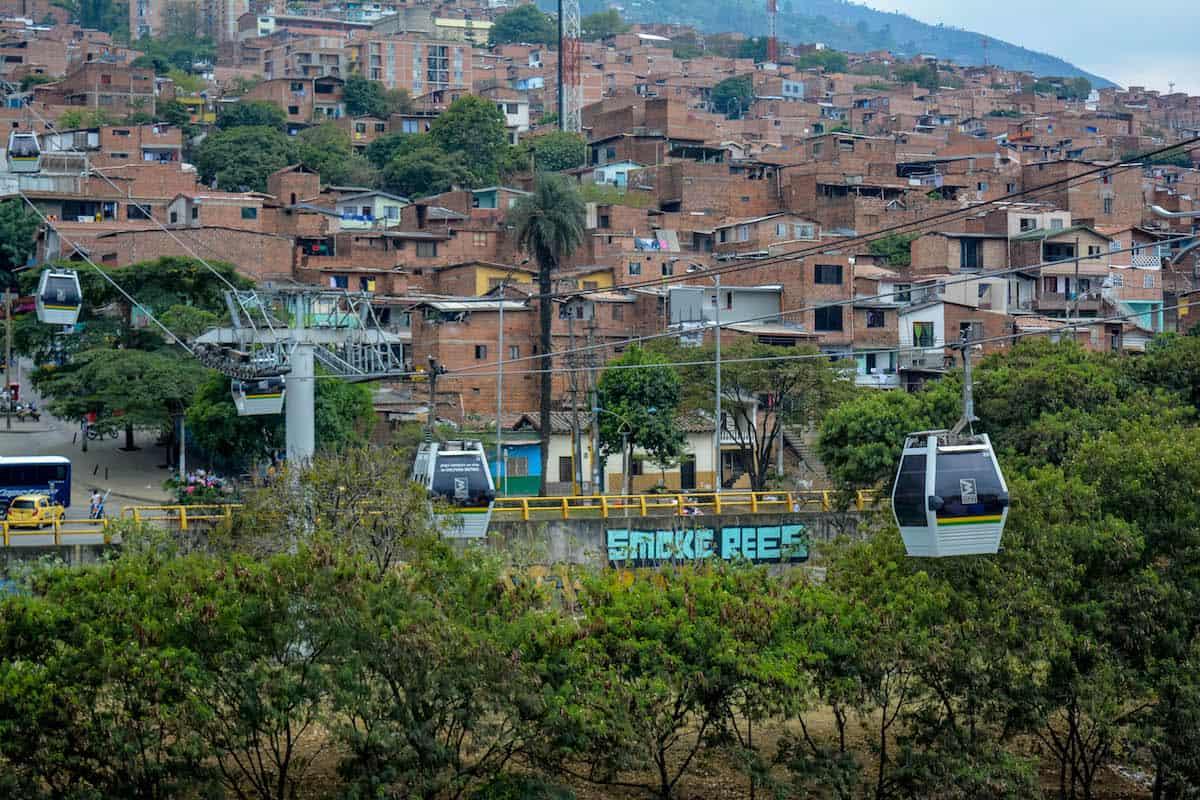 Metro cable de Medellín