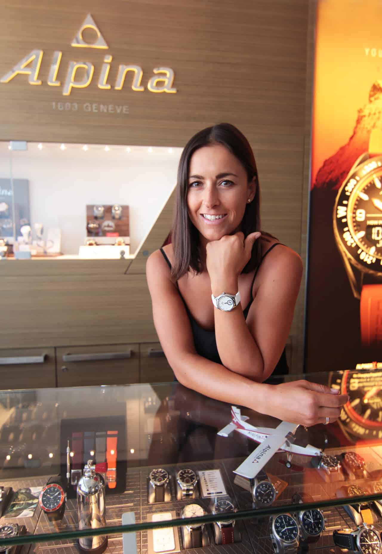 Italian Fis World Cup Alpine Skier Irene Curtoni – Alpina Watches Brand Ambassador