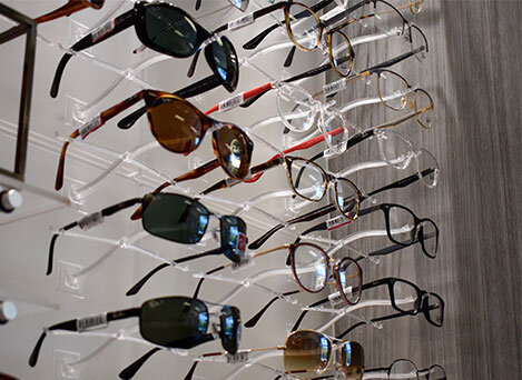Selection of Designer Frames and Sunglasses