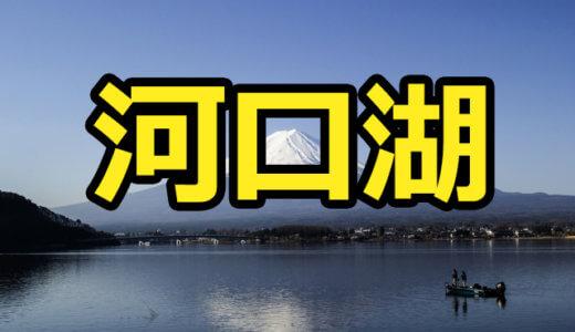 【9店舗】河口湖のレンタルボートまとめ!免許不要艇や最安値のボート屋などを調べました【バス釣り】