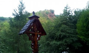 Cetatea Colţ - de la Mănăstirea Colţ