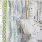 How To Make Custom Curtains Without Sewing Pinterest Blue