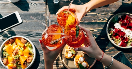 Italian Aperitivo, the happiest moment of the day