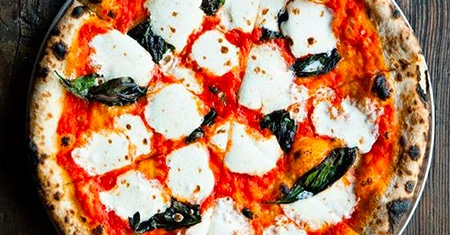 Pizza is the best happy healthy food, Italians says